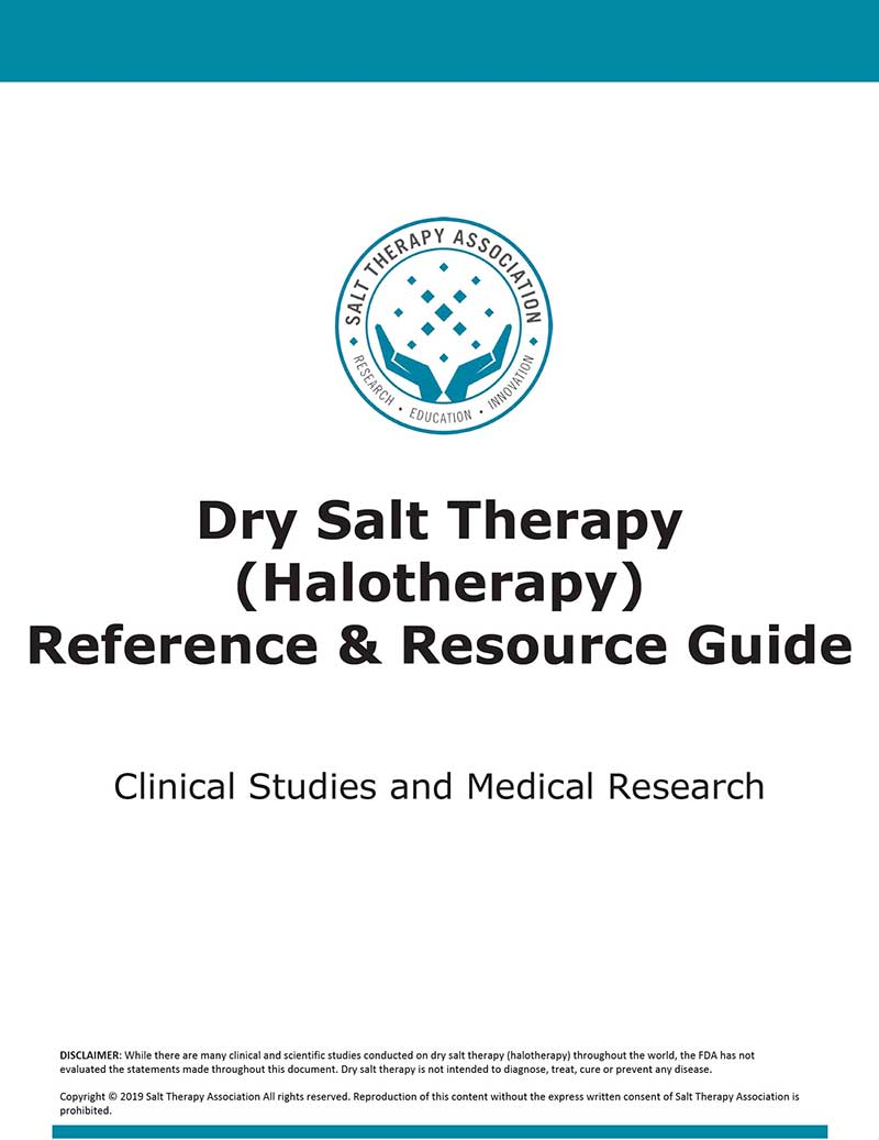 dry salt therapy benefits guide cover